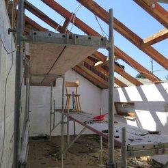 Das Dach über'm Gebetsraum wird erneuert und gedämmt