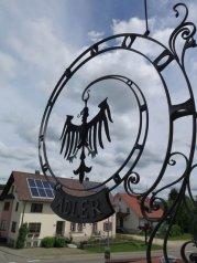 Der alte Adler vom Adler-Gasthof