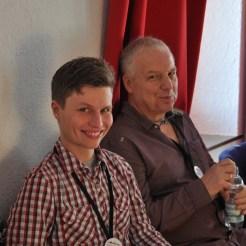 Ulrich und Samuel vom Technikteam