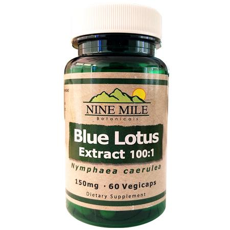 100:1 Blue Lotus Extract Capsules