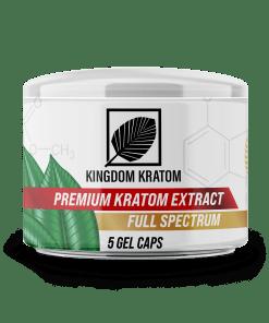 Kingdom Kratom Extract Liquid Capsules 5ct