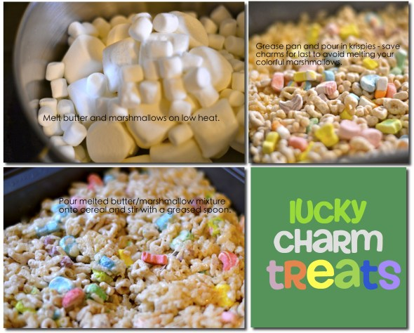 lucky charms rice krispee treat recipe directions