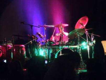 Ali Khan on Kandler Custom Drums 2014 3