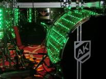 Ali Khan on Kandler Custom drums 2014