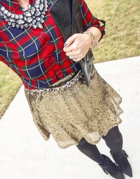 Plaid & Sequins