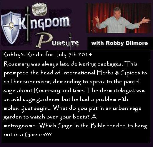 July 5 riddle