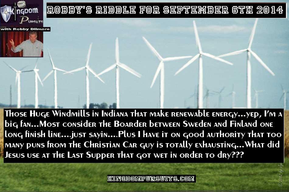 Riddle Sept 6