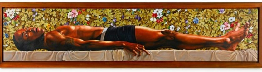 Kehinde Wiley The Dead Christ in the Tomb