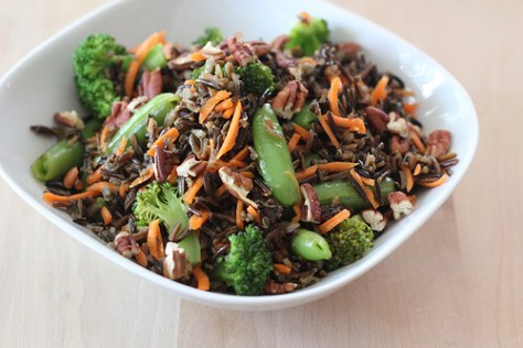 Wild Rice Salad with Broccoli