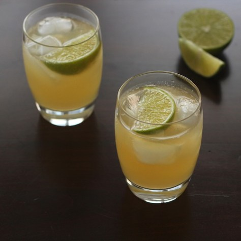 Kentucky Mule Bourbon Drink