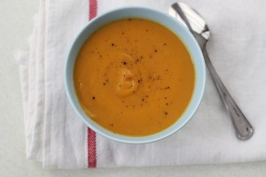 Vegan Roasted Carrot Soup