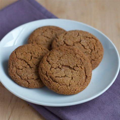 GF Ginger Cookies