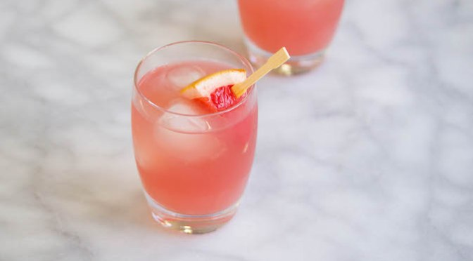 Fresh Grapefruit Margarita Drink Recipe