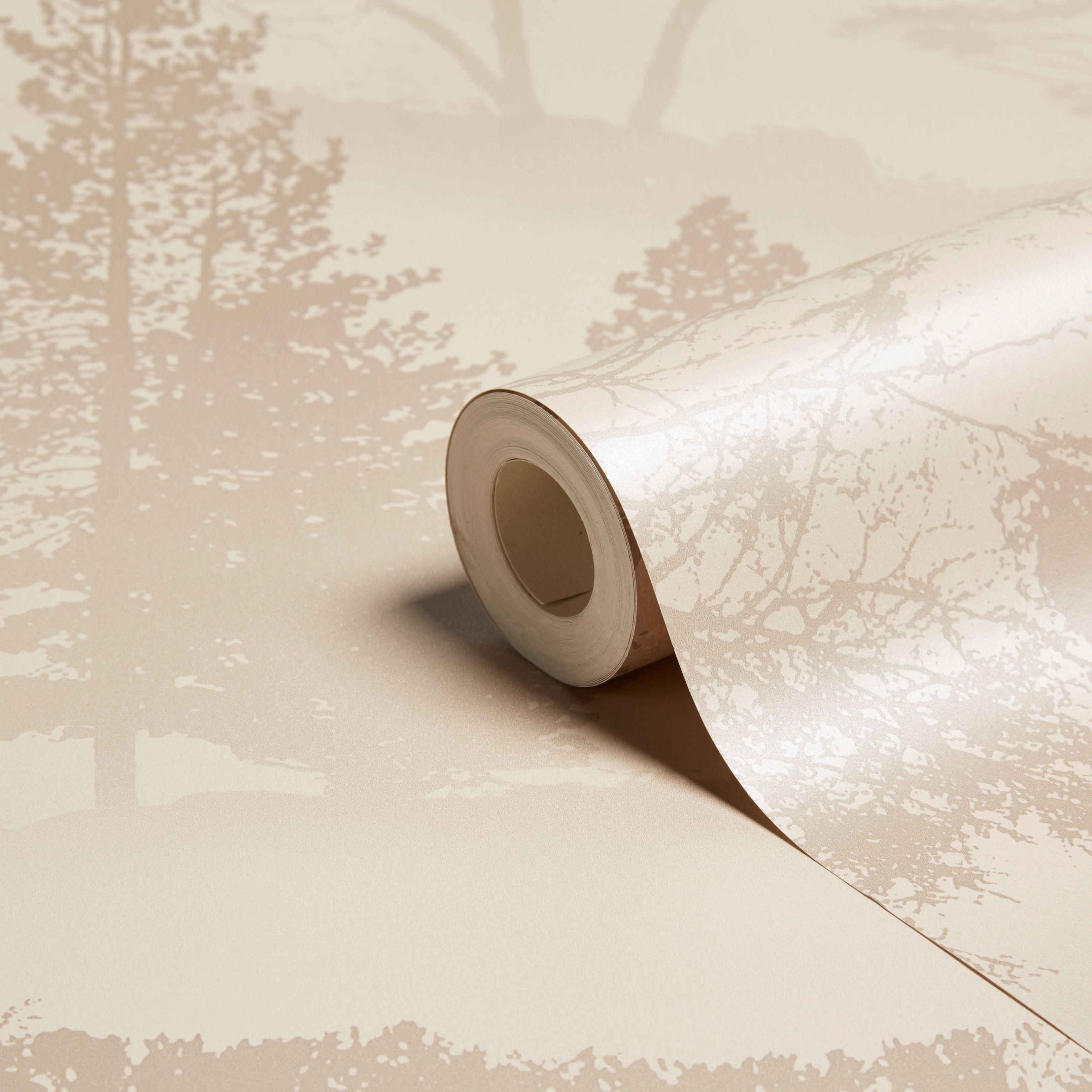 Graham Amp Brown Mirage Latte Trees Wallpaper Departments