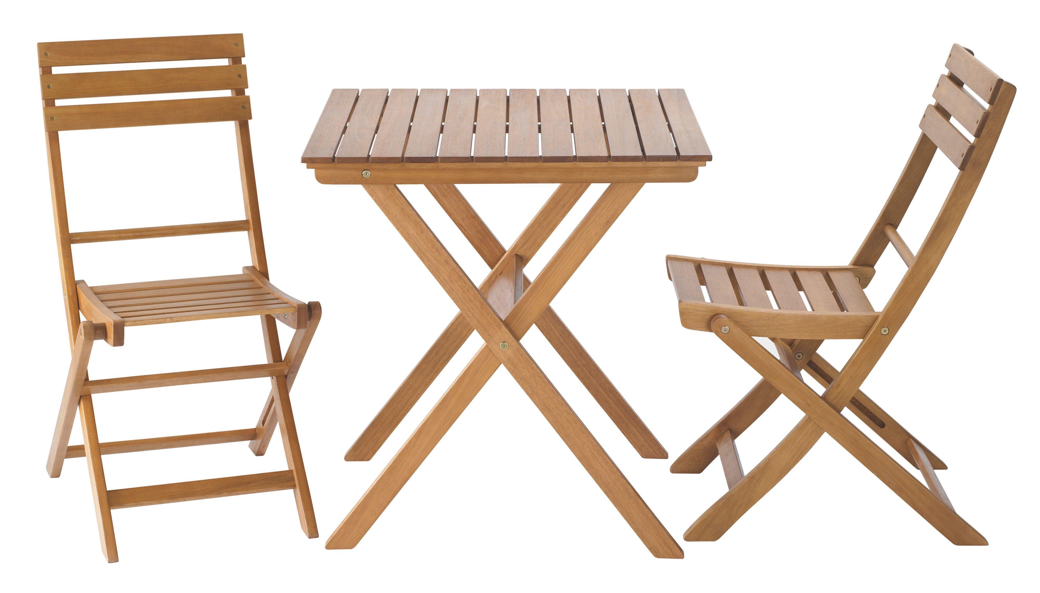 Worcester Wooden 2 Seater Bistro Set Departments DIY