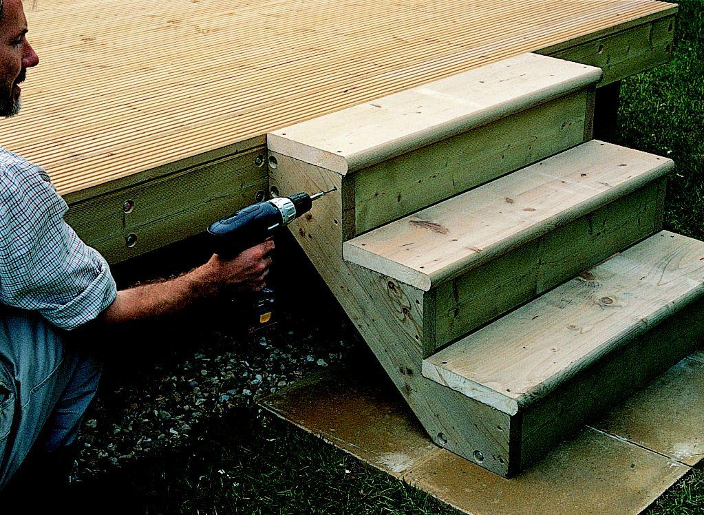 Unattached Deck Designs
