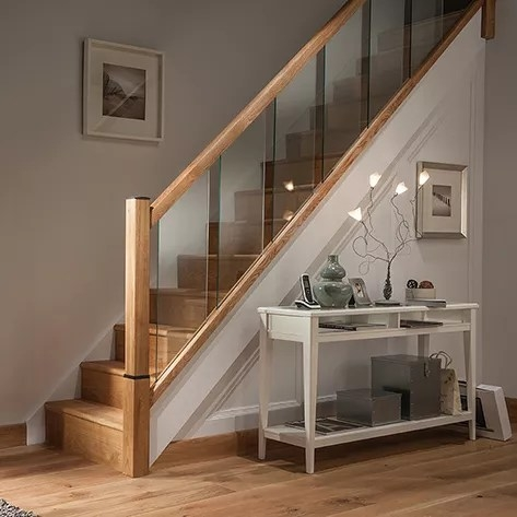Stairs And Stair Parts   New Banister For Stairs   Stainless Steel   Traditional   Oak   Contemporary   Indoor
