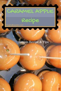 Caramel Apple Recipe Infographic