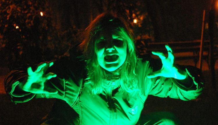 Green Lighting spooky