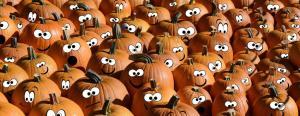 Pumpkin Jokes Laughing Patch