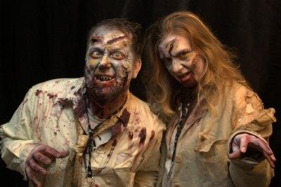 zombie apocalypse Halloween theme