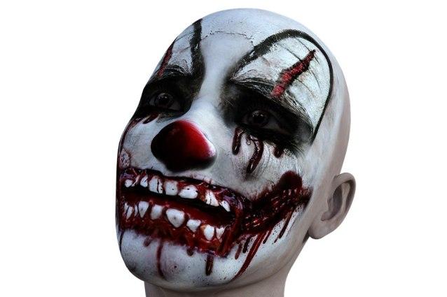 Scary Clown Halloween trivia