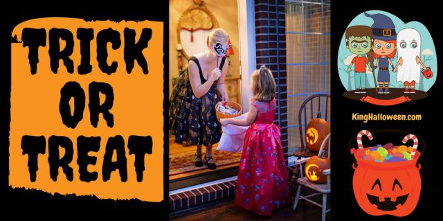 Trick-or-treating symbolism