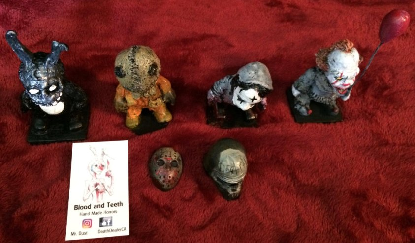Blood and Teeth Horror Figures