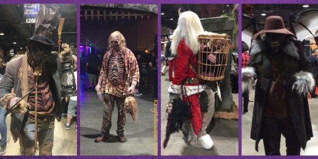 Costumes at Midsummer Scream 2018
