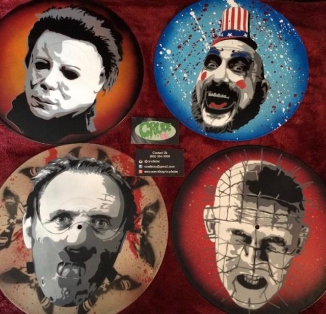Crudeinc four records Halloween 2