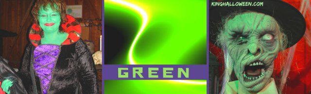 Green Halloween Color