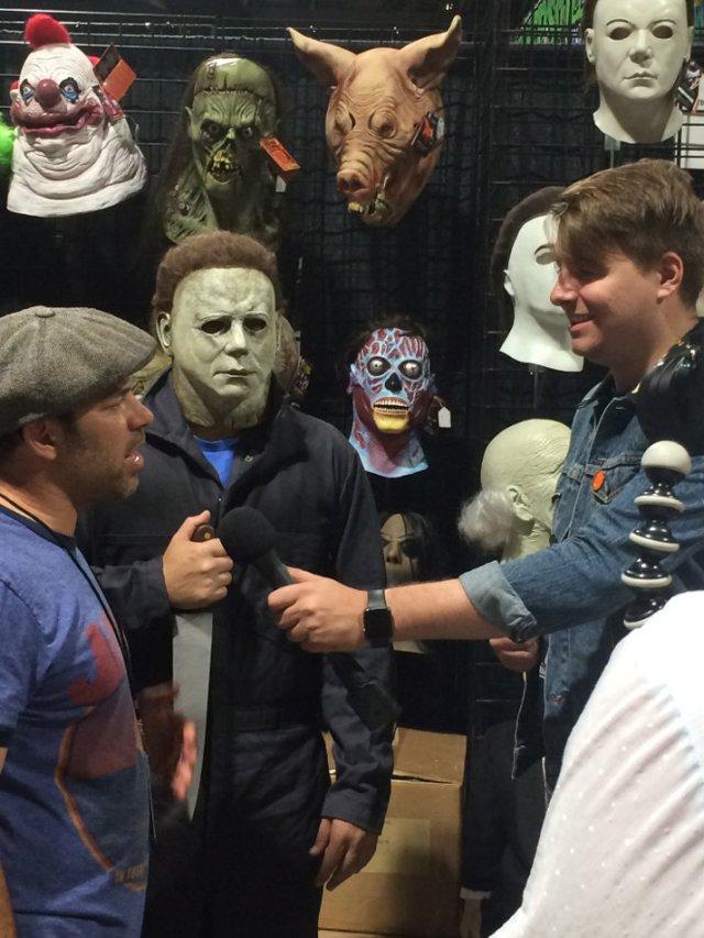 Halloween Interview Myers at Midsummer Scream