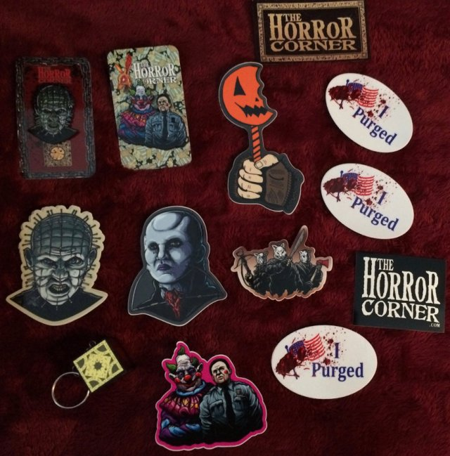 Horror Corner Halloween Stuff