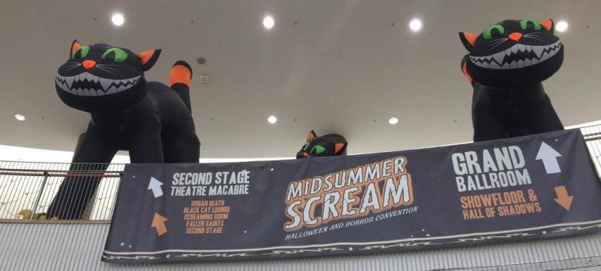 Midsummer Scream Entrance Black Cats 2