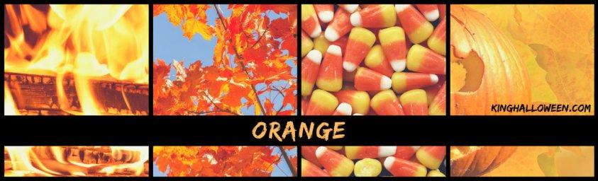Orange and Black Halloween Colors