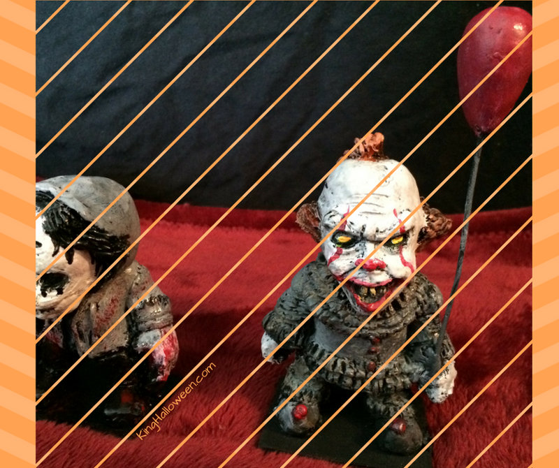 Pennywise and Purge figures