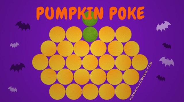 Pumpkin Poke Halloween Games for Children