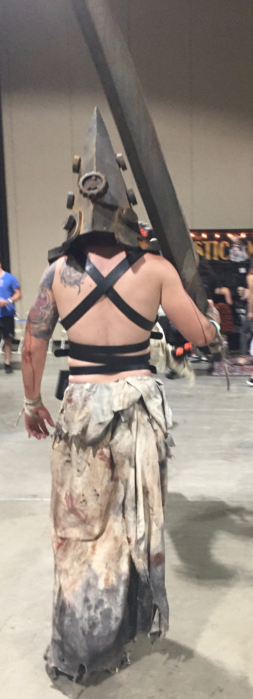Pyramid Head Cosplay Long Beach Convention