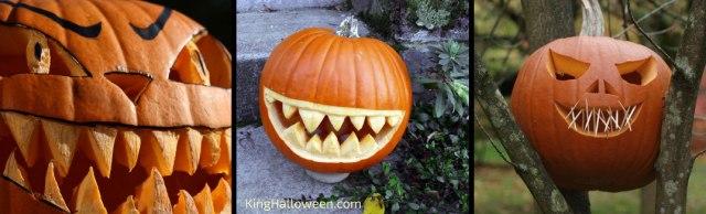 scary pumpkin carving ideas teeth