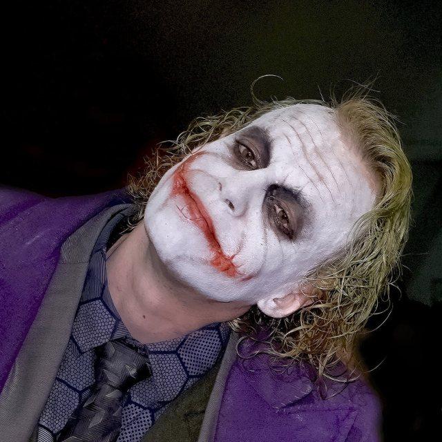 The Joker Death Knight Cosplay