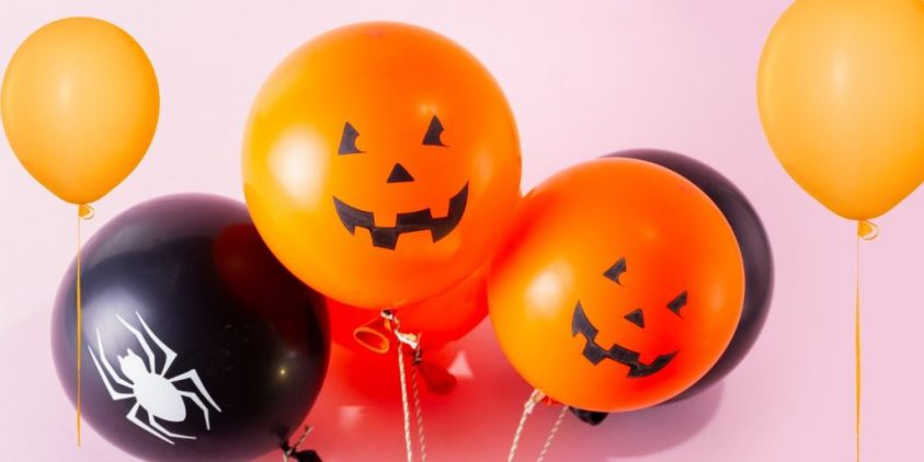 Halloween Games for Children Balloons
