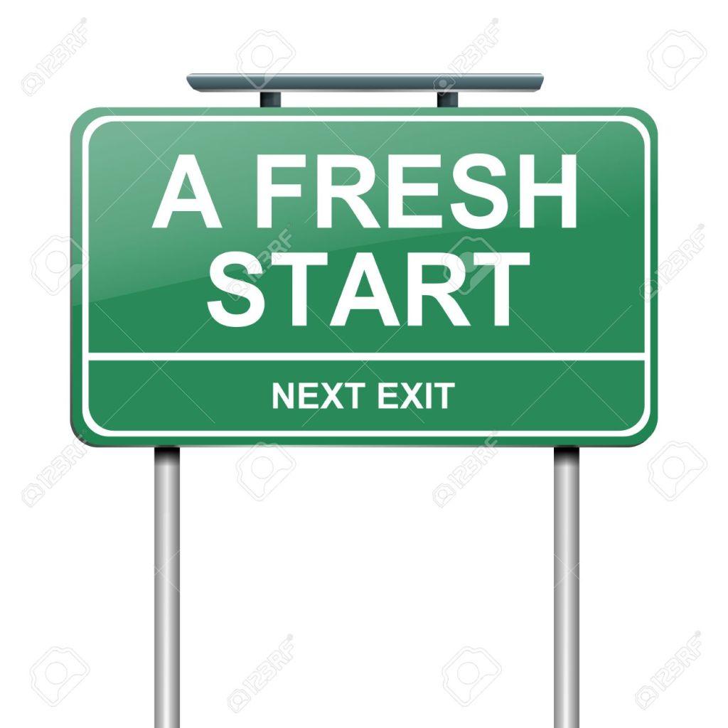 Clean Slate. Fresh Start