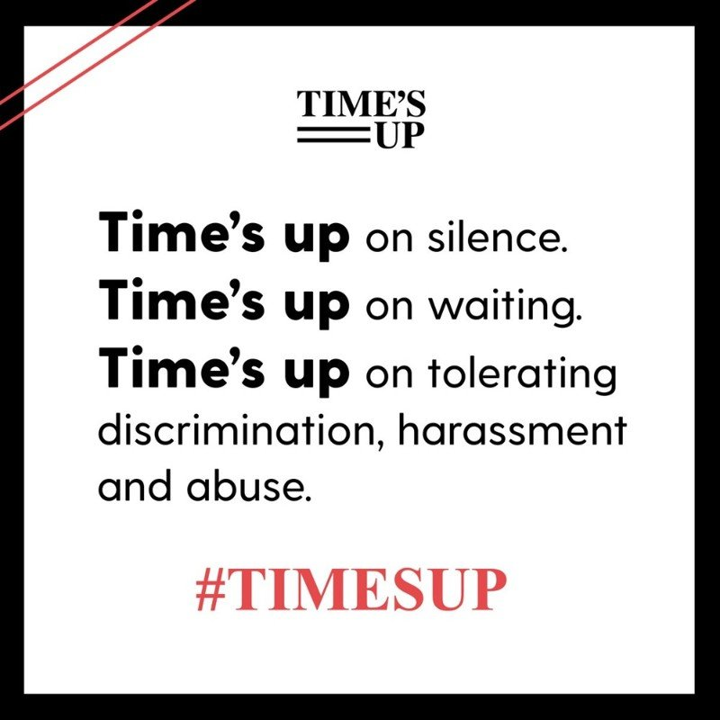 The Time Is Up Movement: Ending Sexual Harassment