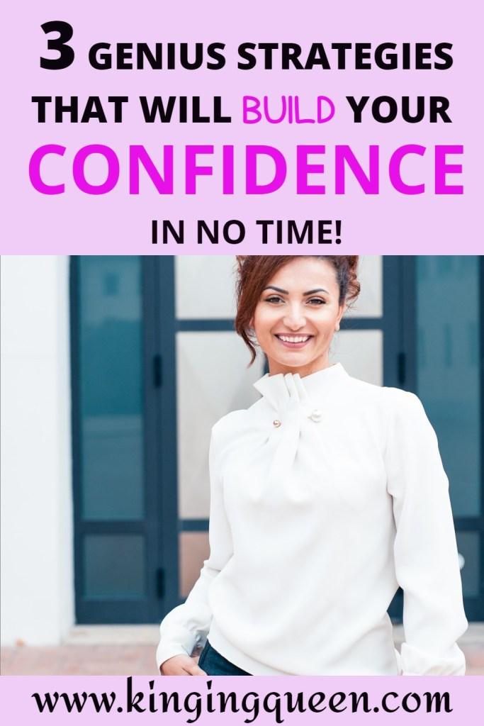 ways to build self confidence