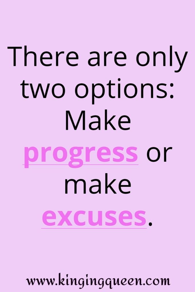 no excuse quotes