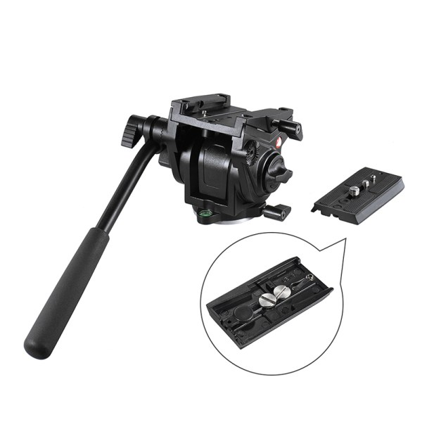 Kingjoy Heavy Duty Fluid Drag Head Pan Tilt Camera Heads For Canon 7D DSLR camera VT-3510