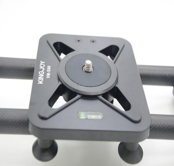 Kingjoy professional dslr video camera dolly track slider 84cmm carbon fiber