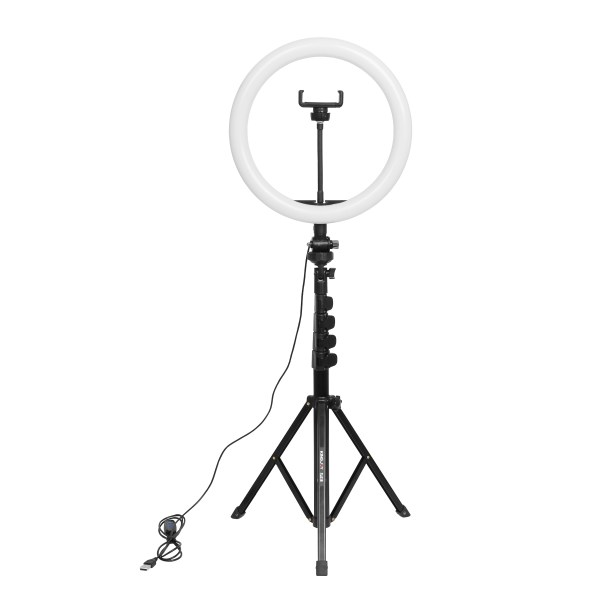 10 inch led ring light dimmable ringlight with 61 inch extendable tripod stand