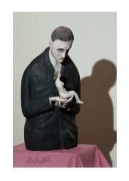 """Art works: """"LO SCULTORE INNAMORATO DELLA SCULTURA"""", 2005"""