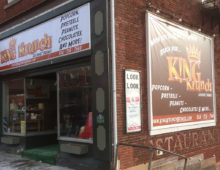 "King Krunch moves ""RETAIL"" upstairs to 199 Pickering Street"